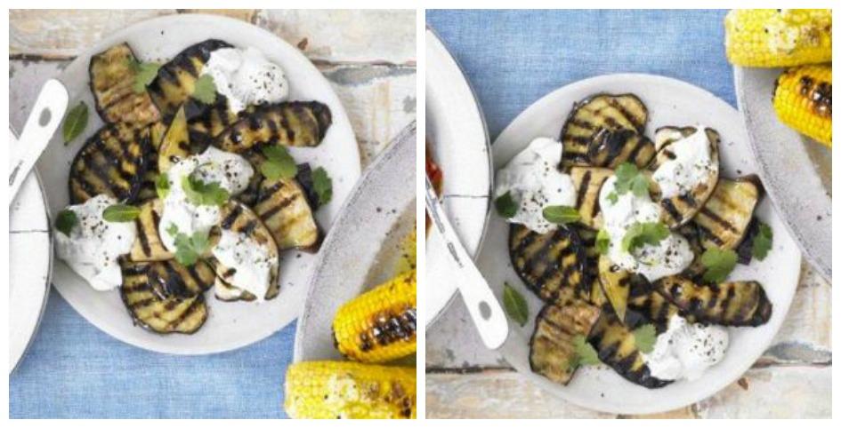 Griddles aubergine BBQ recipe
