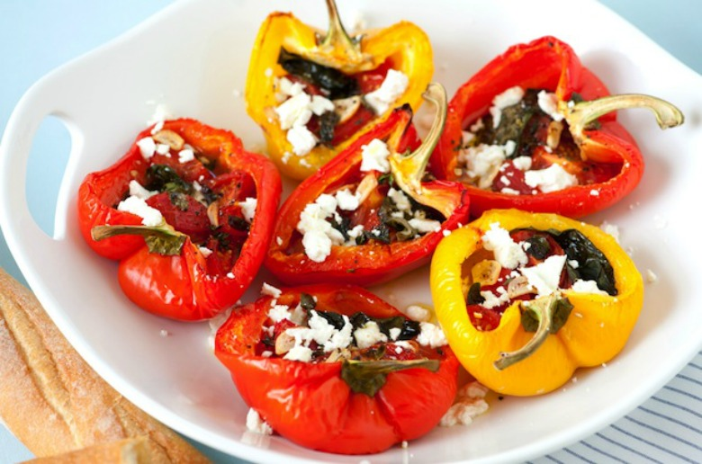 Roasted-Stuffed-Peppers-Recipe