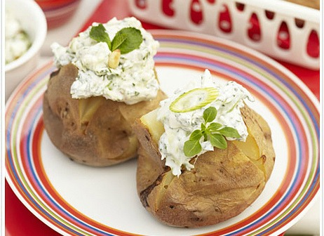 bbq baked potatoes