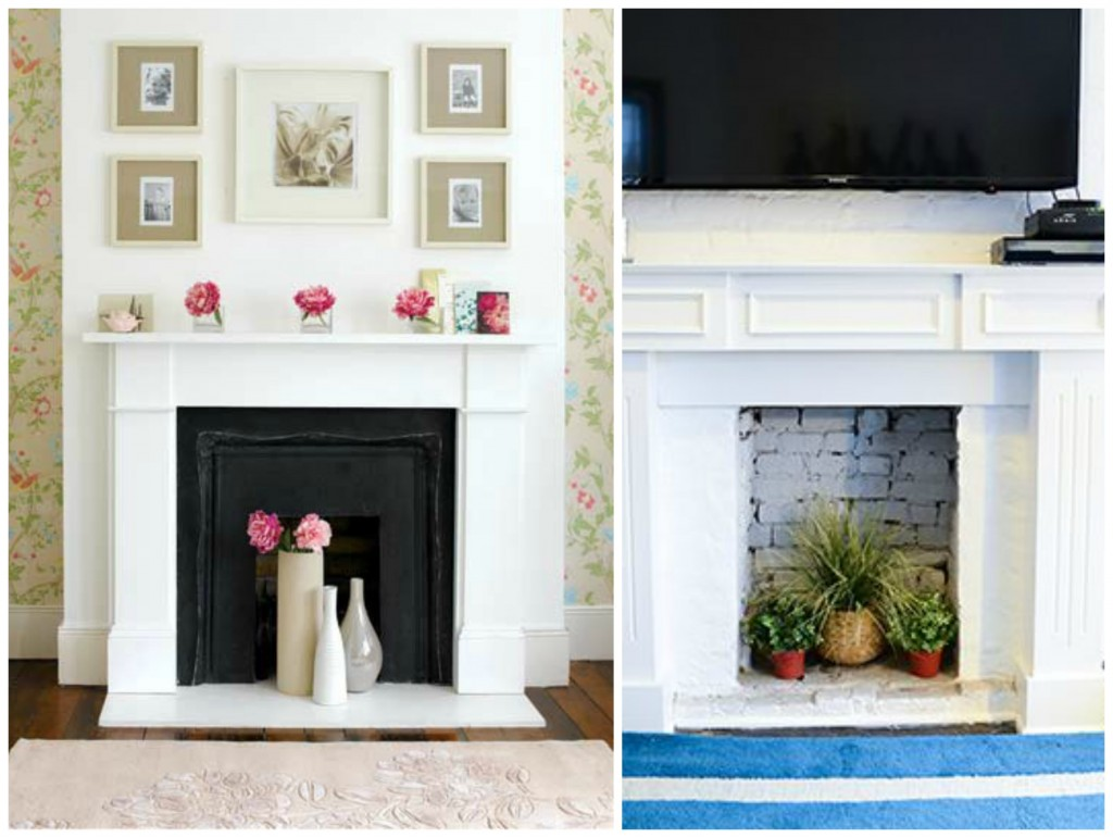 7 ways to decorate a non working fireplace celebricious - Non working fireplace decor ...