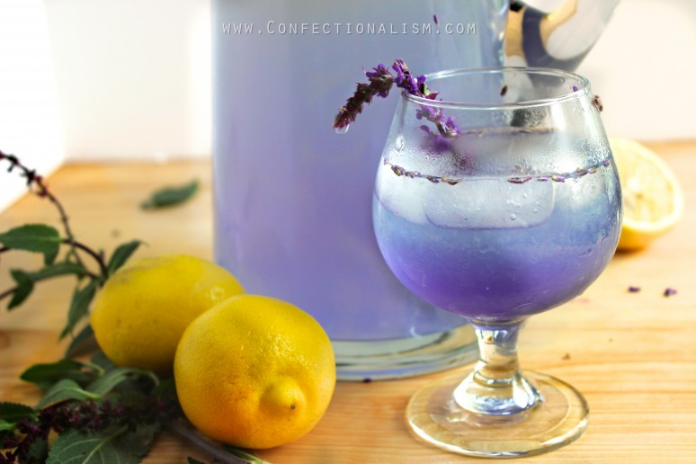 coconut lemonade mocktail