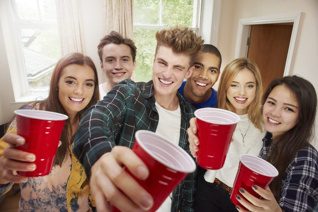 students pre drinks