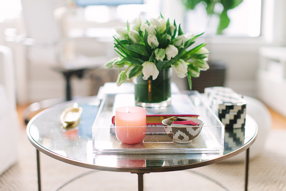 house tour coffee table