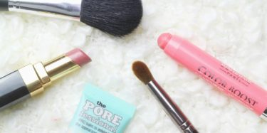 simple makeup routine for the morning rush