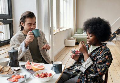 man-and-woman-having-breakfast-4045928