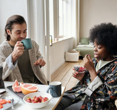 man-and-woman-having-breakfast-4045928