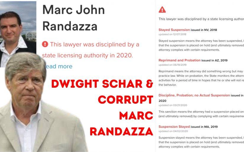 DWIGHT SCHAR & Corrupt Marc Randazza
